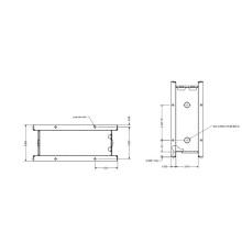 Volume Control Damper Frame Integrated Design Roll Forming Machine Egypt