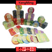 Set de jetons de poker en acrylique (760PCS) Ym-Focp002