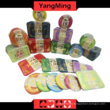 Acrylic Poker Chip Set (760PCS) Ym-Focp002