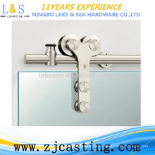 hot sale door fitting tempered glass shower room clamp / sliding door hardware