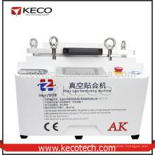 2016 nuevo producto AK 12 pulgadas de vacío de laminación OCA máquina para el teléfono LCD de actualización para iPhone