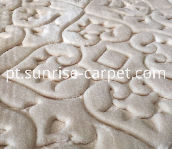 macro figure of embossing carpet