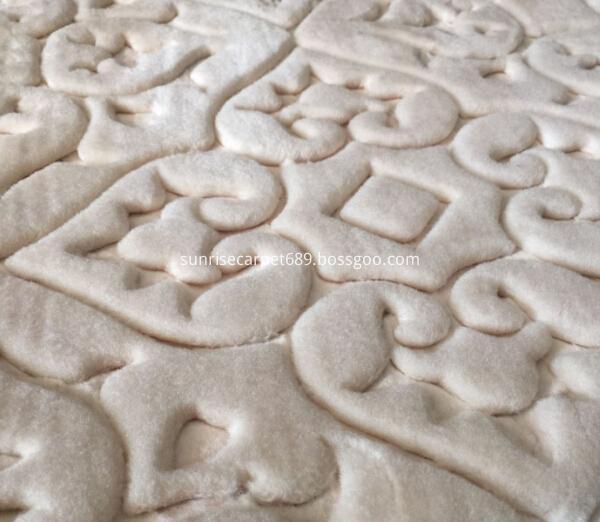 macro figure of embossing carpet