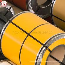 Azulejos de metal recubiertos de zinc Usado GI PPGI Bobina de acero galvanizado de Jiangsu