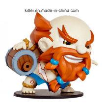Game Miniature PVC Figure Custom Plastic Miniature Figure