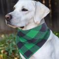 Dog Bandana Pet Scarf Classic Plaid