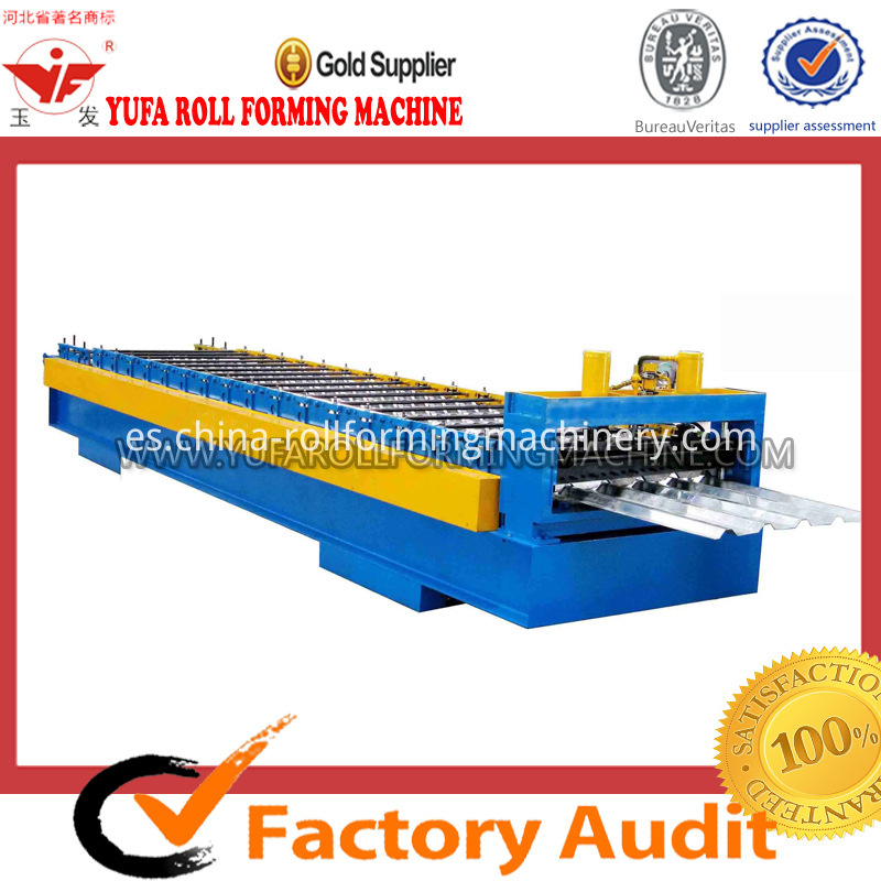 35-125-750 roof roll forming machine