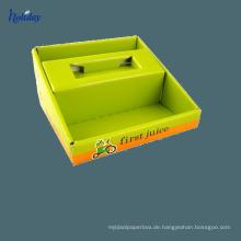 Einzelhandelsgeschäft-USB-Ladegerät-Pappanzeige, Pappzähler-Anzeige für Handy-Ladegerät, Handy-Zubehör-Anzeige