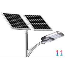 Lâmpada de rua exterior posta solar do diodo emissor de luz das luzes 100watt