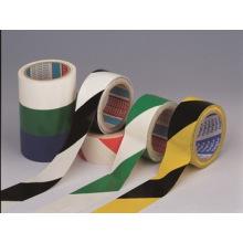 Fita de advertência de PVC para áreas perigosas de advertência
