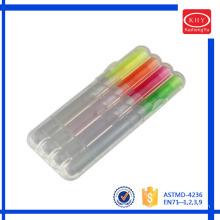 Promotional Non-toxic 4pcs Highlighter Pen Set
