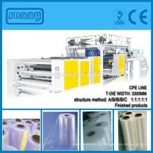 1000mm - 6000mm multicamadas CPP CPE filme máquina de carcaça com T-DIE SHANTOU ensolarado fabricante