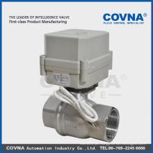 Válvula elétrica de 2 vias Mini para sistema de água / água quente