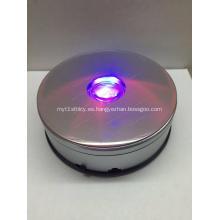Soporte giratorio de pantalla giratoria de 360 grados con LED
