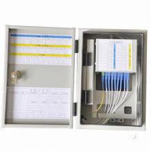 Caja de información FTTH montada en la pared