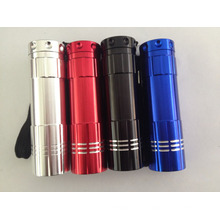 9LED Mini Flashlight Promotionnel 9LED Torch