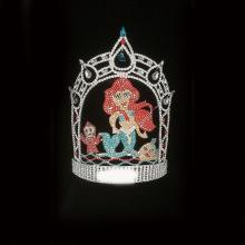 Mermaid Summer Sea Pageant Rhinestone Tiara Crown