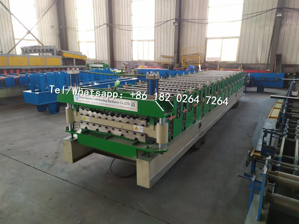 762 Roof Tile Roll Forming Machine