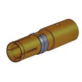 Coaxial D-Sub Power Pin Crimp Female Contact