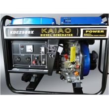 AC однофазный 2kw портативный воздушно-Cooeld дизельный генератор (2-10KW)