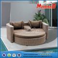 Ensemble de sofa confortable de conception de jardin de rotin