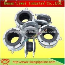 Henan LiWei flexible rubber joint pipe / rubber joint pipe