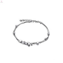 Latest anklet chain designs, thin platinum silver anklets jewelry