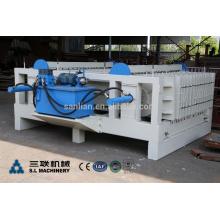 Máquina de espuma pré-moldada de painel de parede de concreto EPS
