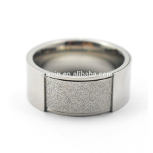 Meilleure vente en gros de l'anneau de mariage en acier inoxydable 316L