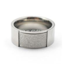 Os mais vendidos 316L Aço Inoxidável Moda Men's Wedding Ring