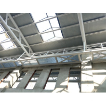 Estructura de acero Hall & Truss Space Frame para edificio / sala / gimnasio / estadio