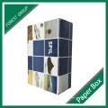 2016 caixa de sapata ondulada da impressão a cores de Cutom com logotipo