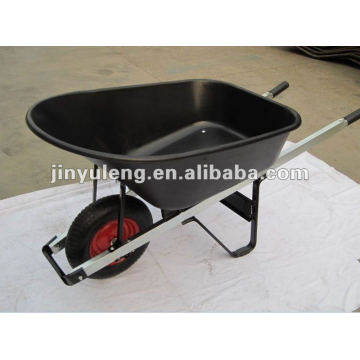 80L heavy duty wheelbarrow WB6600for garden and building with wood handle cheap