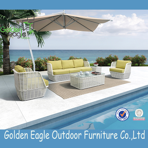 aluminium tube luxury outdoor furniture