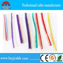 Низковольтный стереопрозрачный акустический кабель 2 * 1,0 мм2 Медный провод