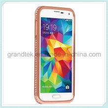 Hybride Diamond pare-chocs métalliques, pour Samsung S5 Frame pare-chocs cas