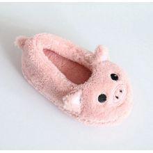 Pantoufles intérieures pour enfants pour terriers doux avec broderie