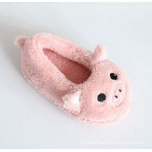 Children′s Indoor Slippers for Soft Terry with Embroidery