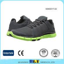 Wholesale Malha superior dos homens Athletic Running Shoes