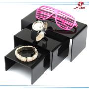 3- Pcs Table Top Fashion Accessories Acrylic Nesting Plinths