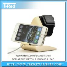 Ladehalter Dock Display für Apple Watch Stand Aluminium