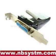Motherboard printer LPT parallel bracket, 25ports motherboard parallel bracket extended port