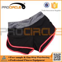 Desgaste atlético por atacado que funciona o short da ioga shorts do suor do desgaste da ioga para a mulher