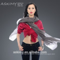 Top quality women 100% cashmere scarf