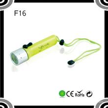 Poppas F96 Portable 4xaa 120lumens Xre Q5 Ipx8 Wasserdichte Hochleistungs-Tauch-LED-Taschenlampe