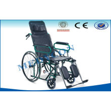 Advanced Quick Release Reclining Wheelchair For Hospital / Home Emergency