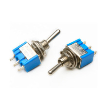 Factory making for Toggle Switch MTS-103 Screw Terminal Auto Reset Small Toggle Switch export to Barbados Factory