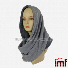 Cozy Infinity Scarf Cashmere in Two Tone