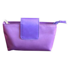 Mini Cosmetic Bag with Flap Closure, Made of Polyester, for Promotional