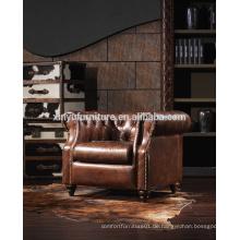 Amerikanischen Stil Vintage Holz Rückenlehne Sofa Stuhl A602
